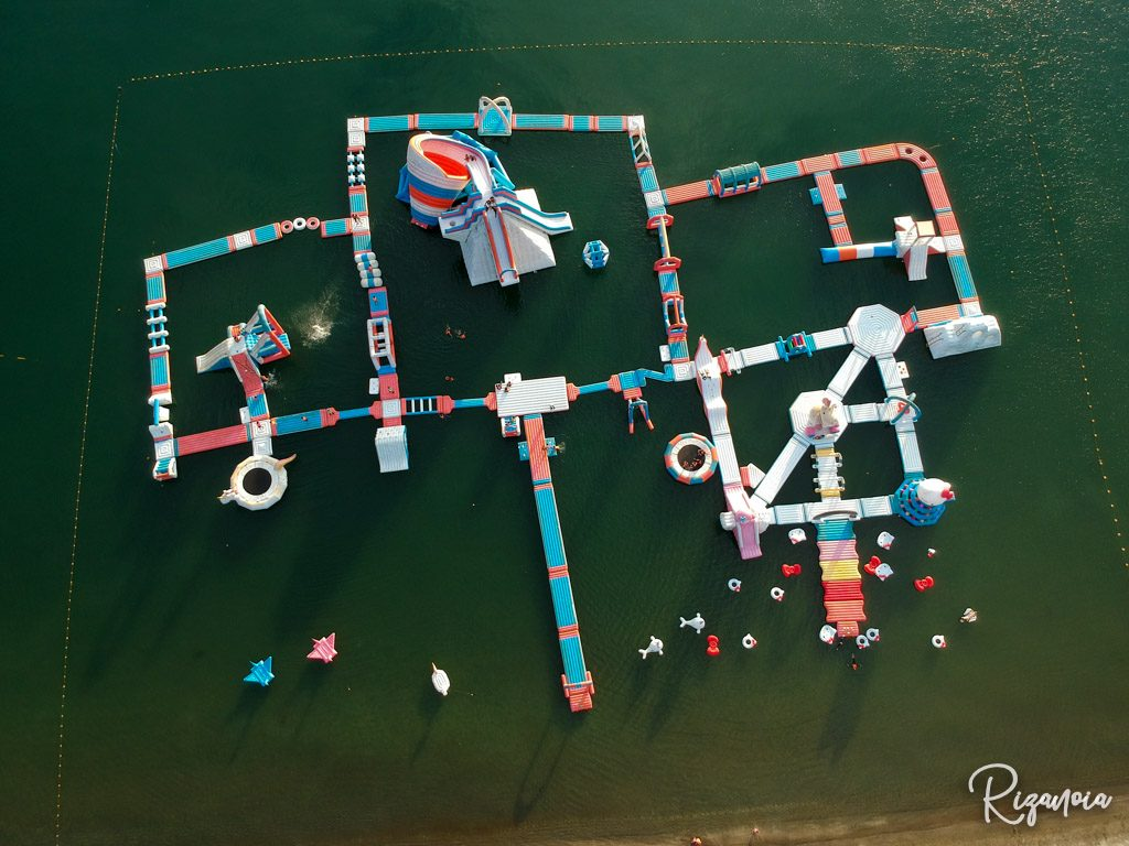 Inflatable Island in Subic: Sanrio Float Town